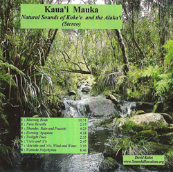 CD Cover Kauai Mauka