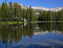 Upper Cora Lake, Minarets Wilderness